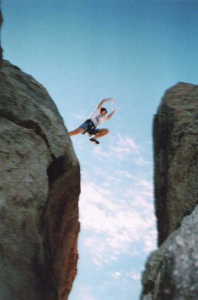Rock Climbing Photo: Can't remember what I had climbed (I think it was ...
