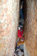 Rock Climbing Photo: Pamela Pack, the first woman to climb and flash Lu...