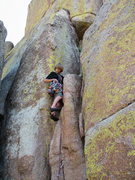 Rock Climbing Photo: Starting up the ultra classic MRC direct. Another ...