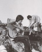 Rock Climbing Photo: Gram Parsons and Keith Richards in Joshua Tree (ci...
