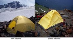 Rock Climbing Photo: Black Diamond's ultralight Firstlight tent. Perfor...