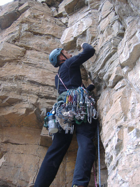 The final pitch of Mudflap Girl, Glenwood Canyon.