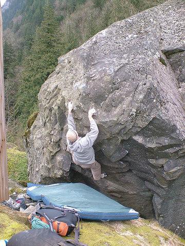 Rock Climbing Photo: RWR