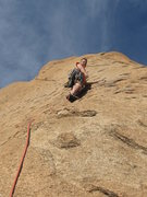 Rock Climbing Photo: Very cool slab climbing