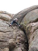 Rock Climbing Photo: Fun climbing!