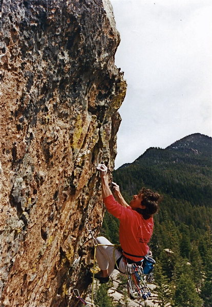 Rock Climbing Photo: These holds are NO illusion.