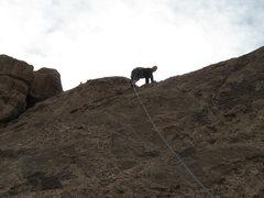 Rock Climbing Photo: Last bit to the top!