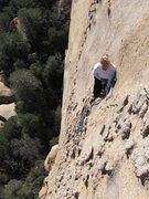 Rock Climbing Photo: Kimberly belays on WML