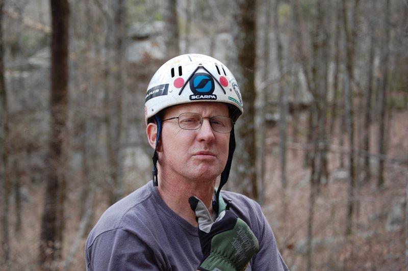 Rock Climbing Photo: Teaching a Boy Scout Class.