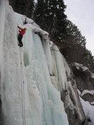 Rock Climbing Photo: Spiral Staircase late Feb '09.  Photo by Adam Sinn...