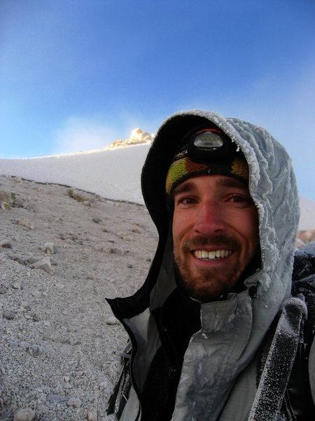Near the summit of Pico de Orizaba