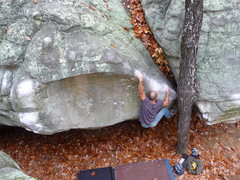Rock Climbing Photo: Moon Arete V6