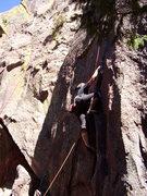 Rock Climbing Photo: Now