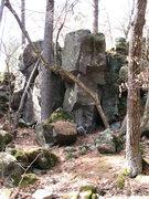 "Rock Climbing Photo: From further afar. Peeler's Rock, aka ""Big Bo..."