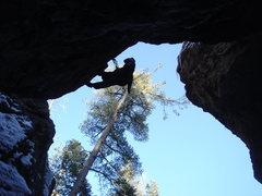 Rock Climbing Photo: Supra on Beastmaster(5.12c/d)