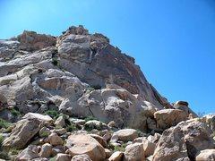 Rock Climbing Photo: Varnished Wall (Left Side), Joshua Tree NP