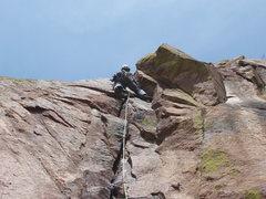 Rock Climbing Photo: Hand Cracker Direct Photo by Mark Roth