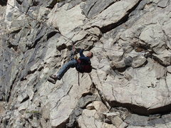 Rock Climbing Photo: Crossing the creek Photo Mark Roth