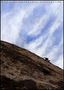 Rock Climbing Photo: Sarah on Mac and Ronnie