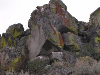 Rock Climbing Photo: A pic of the master disaster boulder.