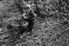 Rock Climbing Photo: Jason on Up Yonder...