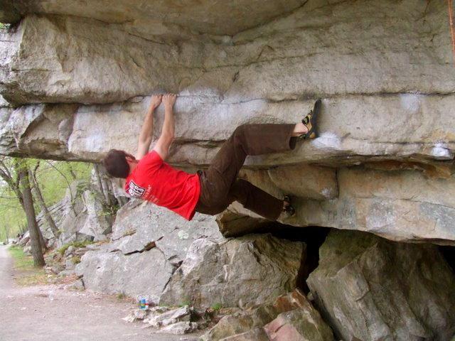 Rock Climbing Photo: Bouldering at the Gunks