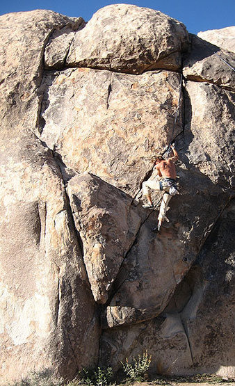 BB on Right Lizard Crack.<br> Photo by Blitzo.