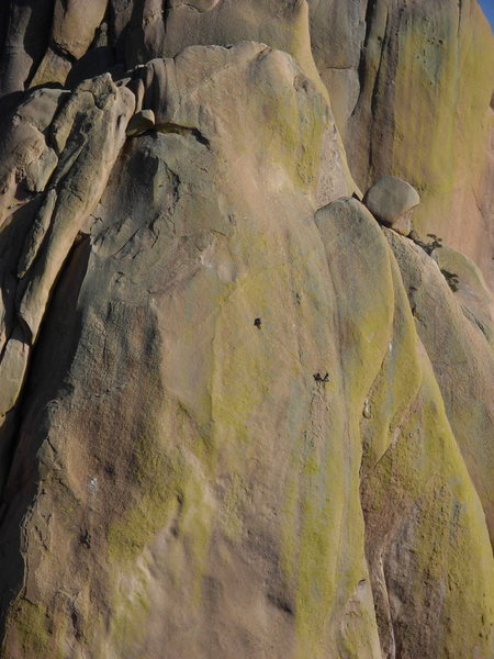 Climbers on End Pinnacle.