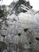 Rock Climbing Photo: 1st pitch