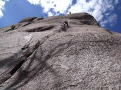 Rock Climbing Photo: Integral Crack(20) - one of the most classic lines...