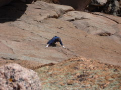 Rock Climbing Photo: Gonzos Lament third pitch.