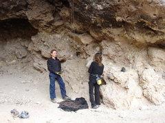 Rock Climbing Photo: Climbing Legends Brandi Proffitt and Timmy Fairfie...