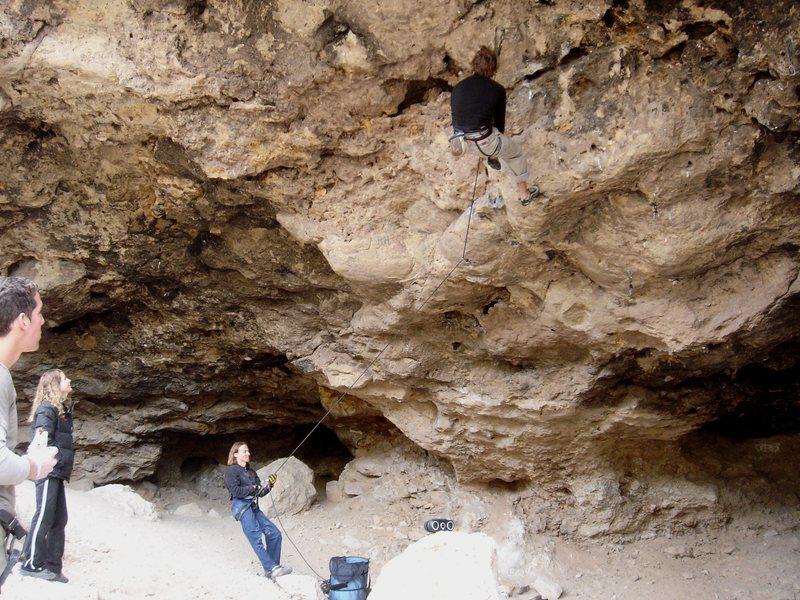 Rock Climbing Photo: Nathan, Timmy, Brandi and Scott.