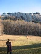 Rock Climbing Photo: My brother regarding Stone