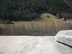 Rock Climbing Photo: Peering over from the top