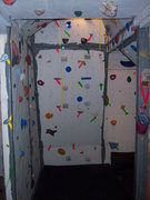 Rock Climbing Photo: Home wall 3