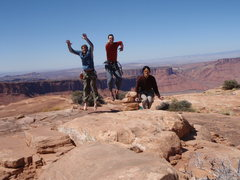 "Rock Climbing Photo: ""3..2..1..oh, wait, try again. 3..2..damn.  O..."