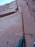 Rock Climbing Photo: P2? GULP! No thank you!