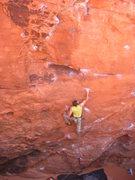 Rock Climbing Photo: Drew on the send