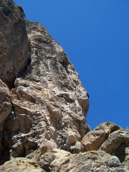 Two Moon Buttress at the Puoux, Glenwood Canyon.