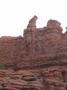 Rock Climbing Photo: The line...