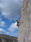 Rock Climbing Photo: Ryan Cowan on Evergreen, 5.11a.