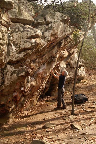 Rock Climbing Photo: The Hueco Simulator