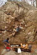 Rock Climbing Photo: Croc Bloc