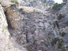 Rock Climbing Photo: Left side wall. No routes as of yet...but great st...