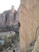Rock Climbing Photo: John on Latest Rage.