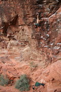 Rock Climbing Photo: Glitter Gulch.  Photo cred: T. Melin