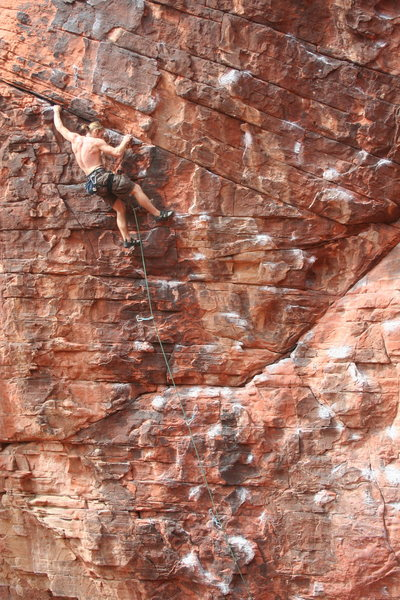 Rock Climbing Photo: SteveZ on Glitter Gulch