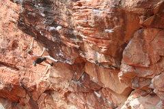 Rock Climbing Photo: T. Melin floats up Sweet Pain