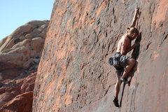 Rock Climbing Photo: SteveZ on Running Man